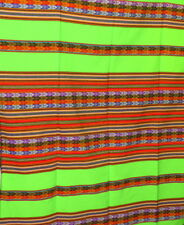 Decke Tischdecke Überwurf Wandbehang  gestreift folklore indio NEU Sofadecke