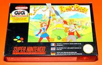 New Power Piggs Darm Age Videogame Gioco per Console Nintendo Super Nes Snes