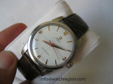 OMEGA 50'S NAIAD SEAMASTER CROSS HAIR ROSE GOLD HOUR MARKERS AUTOMATIC WATCH
