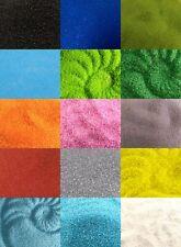 Glass Coloured Sand 0.5mm Home Garden Craft Wedding Memorial 17 Colour Choice