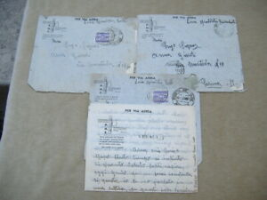 """3 FRANCHIGIE LUGLIO 1941 """"POSTA MILITARE 132"""" CARRISTA DIV. ARIETE LIBIA-EGITTO"""