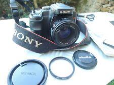 Sony Alpha A100 A 100 12.2 MP Reflex numérique MINOLTA AF Lens 50 manuel