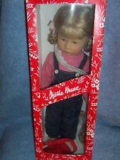 "1984 Kathe Kruse Dolls- 19"" Hetti 47H Blonde, Made in Germany"