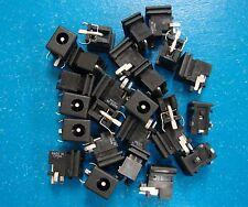 STF-24A PCB Mount 2.1mm DC Power Supply Jack 3-Pin, 2.1x4.5mm, Qty.25