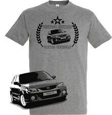 T-Shirt Mazda 323 FT-Shirt   Fan Shirt  Retro Design (M323F)
