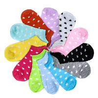 5 pares lindos calcetines caramelo para mujer calcetines cortos de barco dulce