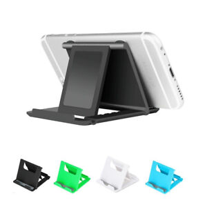 Universal Cell Phone Desk Stand Holder Mount Folding Foldable for Samsung iPhone