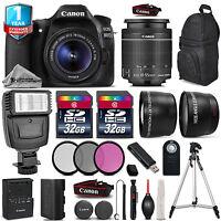 Canon EOS 80D DSLR Camera + 18-55mm IS + Flash + 64GB + Filters +  1yr Warranty