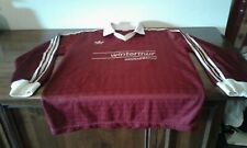 MAGLIA SHIRT MATCH WORN ADIDAS FOOTBALL CALCIO SIZE XL. GRANATA GRENADE