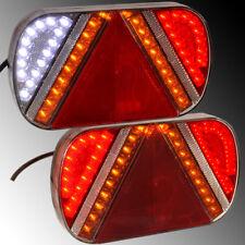 LED Rückleuchten Anhänger LKW BUS Caravan Traktor Baumaschinen 6 Funktionen
