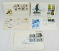 LOT of 22 Vtg 1960 - 1980's First Day Issue Cover Collectible Stamps