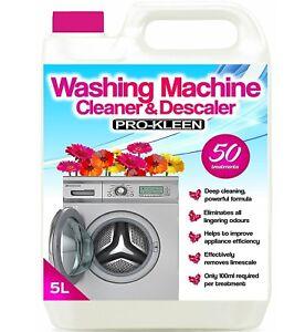 Pro-Kleen Washing Machine Cleaner & Descaler Removes Bad Odours