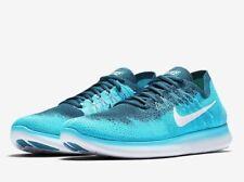 Nike RN FLYKNIT 2017 Reino Unido 7.5 FREE EU 42 Correr Blue Lagoon