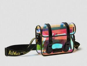 Dr. Martens 7'' Transparent Iridescent Satchel With Hardware AirWair Straps