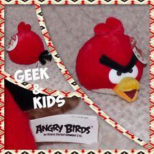 Peluche Angry Birds rouge - 20cm - Neuf - Ref C27