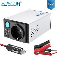 EDECOA 12v 230v 600 1200 watt Spannungswandler Wechselrichter Inverter dual USB