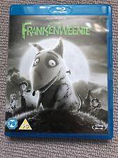 Frankenweenie (Blu-ray, 2013) Like New Tim Burton