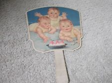 Antique Ice Cream Party Baby Picture Fan Slatington Candyland