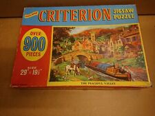 VINTAGE PHILMAR CRITERION Jigsaw Puzzle 900pieces peacefull Valley