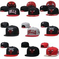 NEW Chicago Bulls NBA Basketball Hats Adjustable Snapback Basketball Cap
