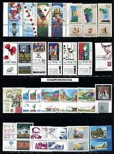Israel 1993 Complete Year Set of Mint Never Hinged Stamps Full Tabs