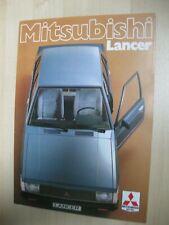 Mitsubishi Lancer folder brochure Prospekt German text Deutsch 16pgs 1979
