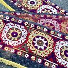 Antique Uzbekistan Emroidered Textile Ceremony Wedding 1800s 11 Feet Tapestry
