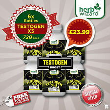 TESTOGEN ANABOLIC -STRONG LEGAL TESTOSTERONE 6 MONTH BUMPER KIT HUGE DISCOUNT