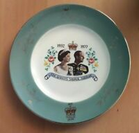Vintage Ashdale Pottery Collectable Commemorative Plate Silver Jubilee 1977 VGC