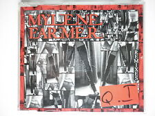 Mylene Farmer cd Maxi Q.I import boîtier cristal