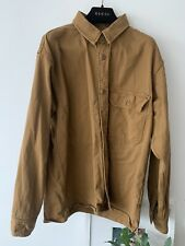 Carhartt WIP Long Sleeve Reno Shirt Hamilton Brown Medium