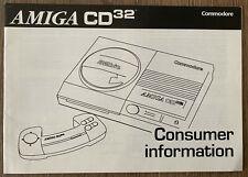 Amiga CD ³² - Consumer Informations, ³², Commodore # #