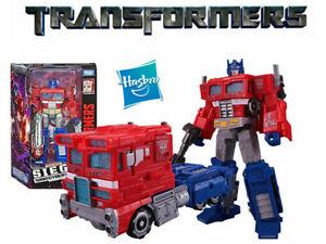 Transformers Siege War Cybertron Trilogy Optimus Prime WFC-S11 Action Figure Toy