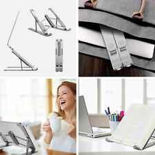 Laptop Stand Foldable Notebook Table Adjustable Portable Tray Lazy Computer Desk
