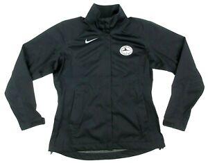 Women's Nike Golf Storm-Fit AT&T Pebble Beach Pro-Am Golf Jacket Black Sz LARGE