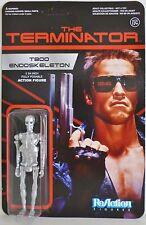 """T-800 ENDOSKELETON GUN METAL The Terminator 3 3/4"""" Reaction Retro Figure 2014"""