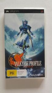Valkyrie Profile Lenneth PSP VGC PAL
