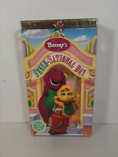 Barney's Sense-Sational Day Classic Collection Rare Not Seen On TV