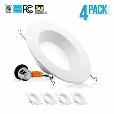 "4-12 x PARMIDA 5/6"" 15W LED Retrofit Metal Recessed Downlight Dimmable Can Light"