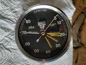 98 Velocette KTT KSS Smiths Jaeger revcounter speedometer Drehzahlmesser TT Manx