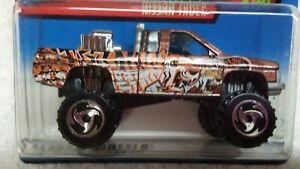 Hot Wheels 2000 021 Nissan Truck Attack Pack Series 1 of 4 cars HW monster truck