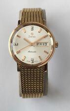 Vintage Zodiac Watch Automatic 18k Solid Gold Diamonds Cal. 86 Mint Condition