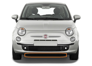 New Genuine Fiat 500 500C 2007-2015 Front Bumper Black Lip 51861057 OEM