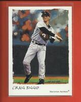 Craig Biggio 2002 Topps Gallery Card # 114 Houston Astros Baseball MLB HOF