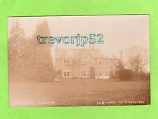 Rectory Winforton Nr Hay on Wye unused RP pc Unwin Ref B677
