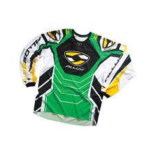 Alloy Motocross MX Jersey Shirt 05 Combustible Verde/Amarillo Enduro MTB Top