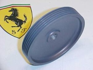 Ferrari 456 Engine Cooling Water Pump Pulley_154526_550_Maranello_GTA_GT_NEW_OEM