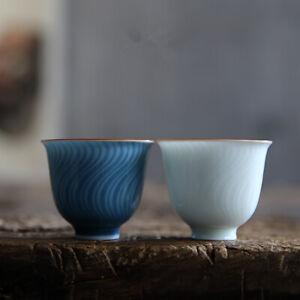 Jingdezhen porcelain cup one piece 1.5oz kungfu tea cup antique style China cups