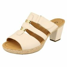 Gabor 100% Leather Slides Sandals & Beach Shoes for Women