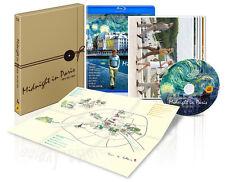 MIDNIGHT IN PARIS [Blu-ray] + Tour Map BOX SET, New~ Woody Allen / (Region A)
